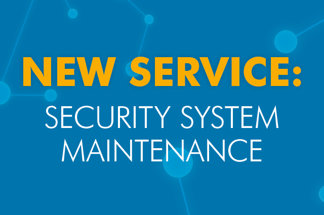 Introducing Our Security System Maintenance Service | ACC Blog