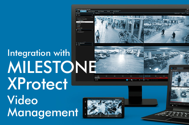 Paxton Net2 Integrates Xprotect Video Management Software