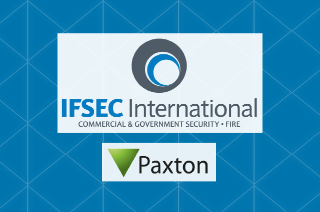 Paxton at IFSEC Int. 2016